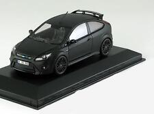 ford focus rs 500 1/43 1:43 minichamps siege noir + boitage Ford boxed