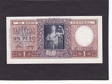 Argentina 1 Peso 1952-55 P-260b  AU/UNC