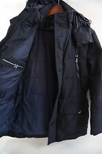 Hugo Boss Black Label 'Deave3' Down Fill Hooded Parka Coat Size 38 R RETAIL $795
