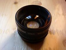 aggiuntivo grandangolare Itorex Video 58mm 58 per videocamera canon sony full hd