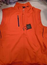 Bobby Jones X-H20 Performance Polyester Gilet Full Zip Vest NWT  Large $130