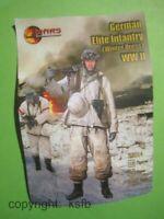 1/32 MARS 32014 WKII Deutsche Elite Infanterie in Winter Tarnung Soldaten Armee
