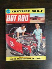Hot Rod Magazine April 1960 - Chrysler 300 - 600hp Jet Rod - Bug Wasp Go Kart