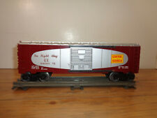 "LIONEL O GAUGE # 6464-374 CENTRAL OF GEORGIA ""THE RIGHT WAY"" BOXCAR"