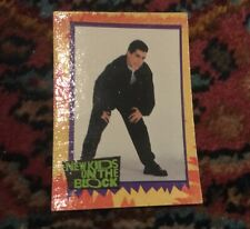 Danny Wood New Kids on the Block Topps 1 trading card #37 Ambitious