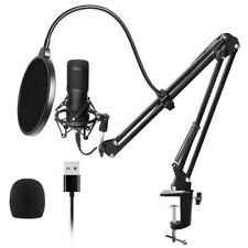 Usb Streaming Podcast Pc Microphone Professional Studio Cardioid Condenser X4O4