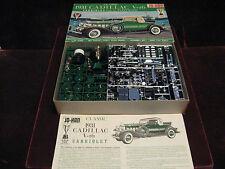 Orig 1965 '31 Cadillac V-16 Cabriolet Fleetwood JO-HAN USA Model/Kit GC431 MINT!