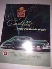 Self Starter Cadillac Magazine 44 Years September 2001 040117NONRH