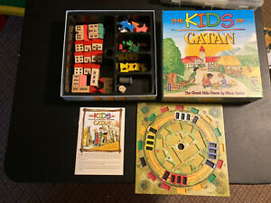 The Kids of Catan 3020 Board Game Complete 2003 Mayfair Games