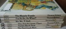 Mr. T and Me lot of 6 Ex-Library Hardcover Books (My Mr. T Doll, Hard Luck Mutt)