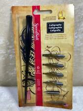 Speedball Pen Set #2961 Calligraphy 6 Nibs