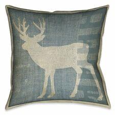 Laural Home Deer Patch Indoor Decorative Pillow