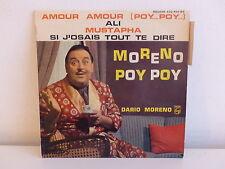 DARIO MORENO Poy poy Amour amour ...432450 BE