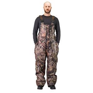 Men's Insulated & Waterproof Camo Bib Overalls Mossy Oak Pattern-hunting-hiking