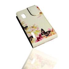 Design 6 Flip Style Tasche Cover Case Handy Hülle Etui  für LG  E610  Optimus L5