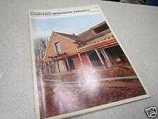 LE NOUVEAU JOURNAL DE CHARPENTE MENUISERIE PARQUETS N° 1 janvier 1975 H VIAL *