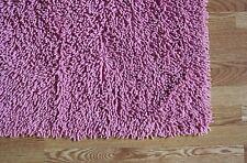 5'x8' LIGHT Pink Super Soft Cotton chennile noodle Shag Rug