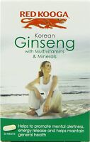 2 x Red Kooga Korean Ginseng with Multivitamins & Minerals 32 Tablets