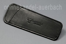 Laguiole en Aubrac  PCA12 black  Leder-Etui  Taschenmesser  Messer
