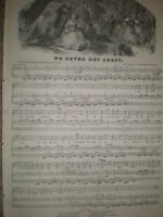 We Never Met Again Edward Mordaunt Spencer G Herbert Rodwell 1850  music sheet
