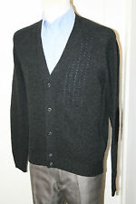 PRADA MILANO CARDIGAN 100% WOLLE Pullover NEU GR: L 50 UMC687 MADE IN ITALY
