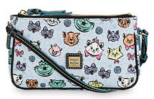 Dooney Bourke Disney Parks CATS Pouchette Crossbody Bag Dogs Cheshire Aristocats