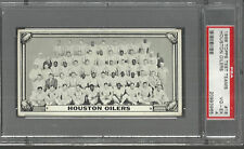 1968 TOPPS FOOTBALL TEST TEAMS HOUSTON OILERS PSA 4 VERY GOOD EXCELLENT