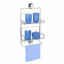 Vertex | Super Suction | Adjustable Shower Caddy / Bathroom Storage Unit