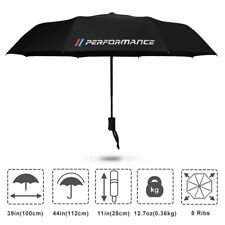 Black Umbrella M Power Perfomance M3 Car Luxury Accessories Automatic For BMW