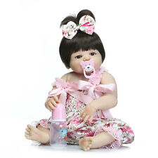 Pinky Silicone Vinyl 23Inch 57cm Realistic Full Body Weighted Reborn Baby Doll