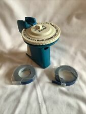 Rotex Label Maker 38 95 Mm Lettersnumbers With Extra Blue Tape Works