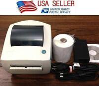 Zebra LP2844 Direct Thermal Label Tag Printer + 250 4X6 Label for Ebay Shipping