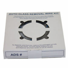 Windshield Removal 853 ft Cut-Out Piano Wire Kit & 4 Handles Auto Glass Repair
