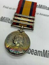 Original Queens South Africa Medal, Boer War, Officer (Captain), Middlesex R.