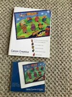 Canon Creative CD ROM For Windows Version 1.3 1995 DISC AND USER'S MANUAL