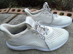 WOMEN  ADIDAS BW1196 Alphabounce Running Shoe Sneaker SIZE 8 Beige