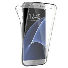 Funda de Silicona 360 Trasera y Delantera para Samsung Galaxy S8 - Transparente