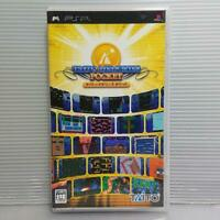 Taito Memories Pocket PSP Used Japan Variety Game 2006 Boxed Tested Working