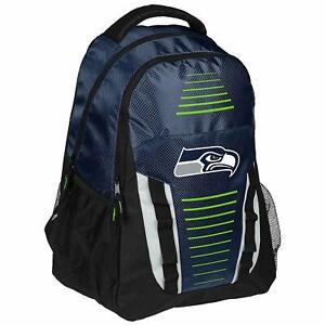 Seattle Seahawks NFL Stripe Franchise Backpack (School,Sport,Travel)