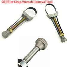 Oil Filter Strap Wrench Removal Tool Socket 60mm To 120mm  Diameter Adjustable
