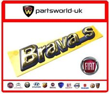 FIAT BRAVA S BADGE 7791366 NUOVO ORIGINALE
