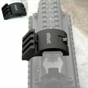 45 Degree Offset Low Profile Rifle 20mm Picatinny Rail Mount For Laser Scope