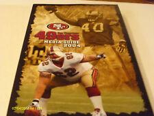 San Francisco 49ers 2004 Media Guide Dennis Erickson Brandon Lloyd Ken Dorsey
