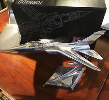 NEU, Panavia Tornado Kampfjet, Skulptur aus Aluminium, Absoluter Eyecatcher, TOP