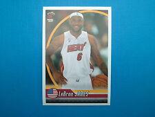 2010-11 Panini NBA Sticker Collection n.134 LeBron James Miami Heat