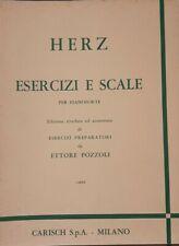 HERZ - Esercizi e scale per pianoforte - ed Carisch