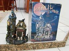"""COSTCO Halloween Animated Lighted Haunted House With Sound 19.5"""" tall"""