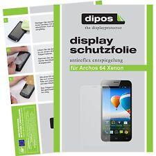 1x dipos Archos 64 Xenon screen protector protection guard anti glare