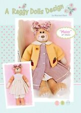 MAISY RAG DOLL BEAR - Sewing Craft PATTERN - Cloth Rag Doll Artist Bear Pattern