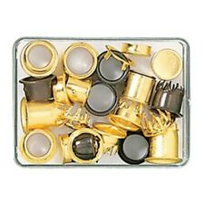 Assortment of Brass Clock Dial Key Hole Collets for Clocks (25 pieces) - CX152